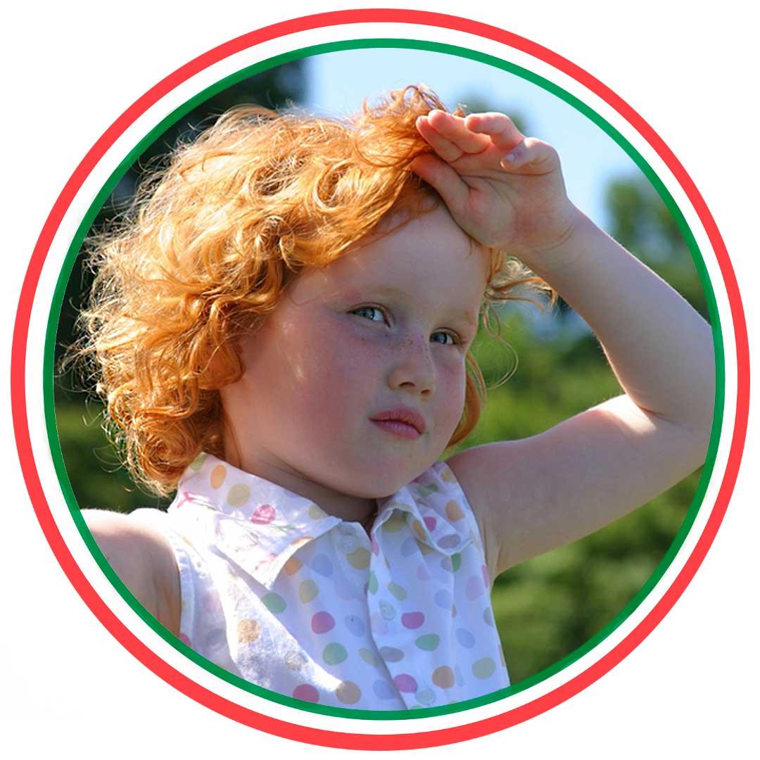 Как помочь ребёнку при тепловом ударе?