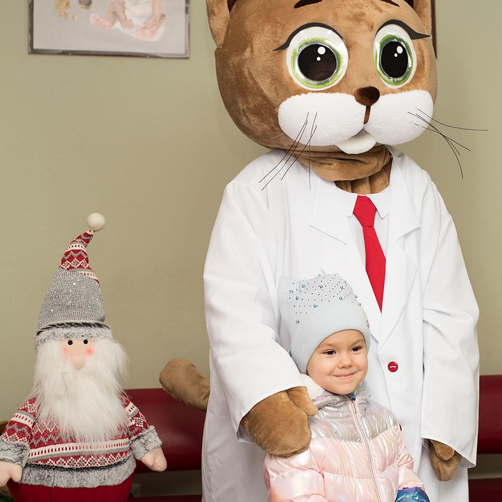 Детский праздник в клинике